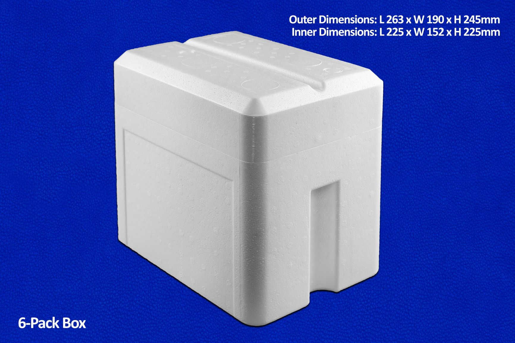6-Pack Box Container