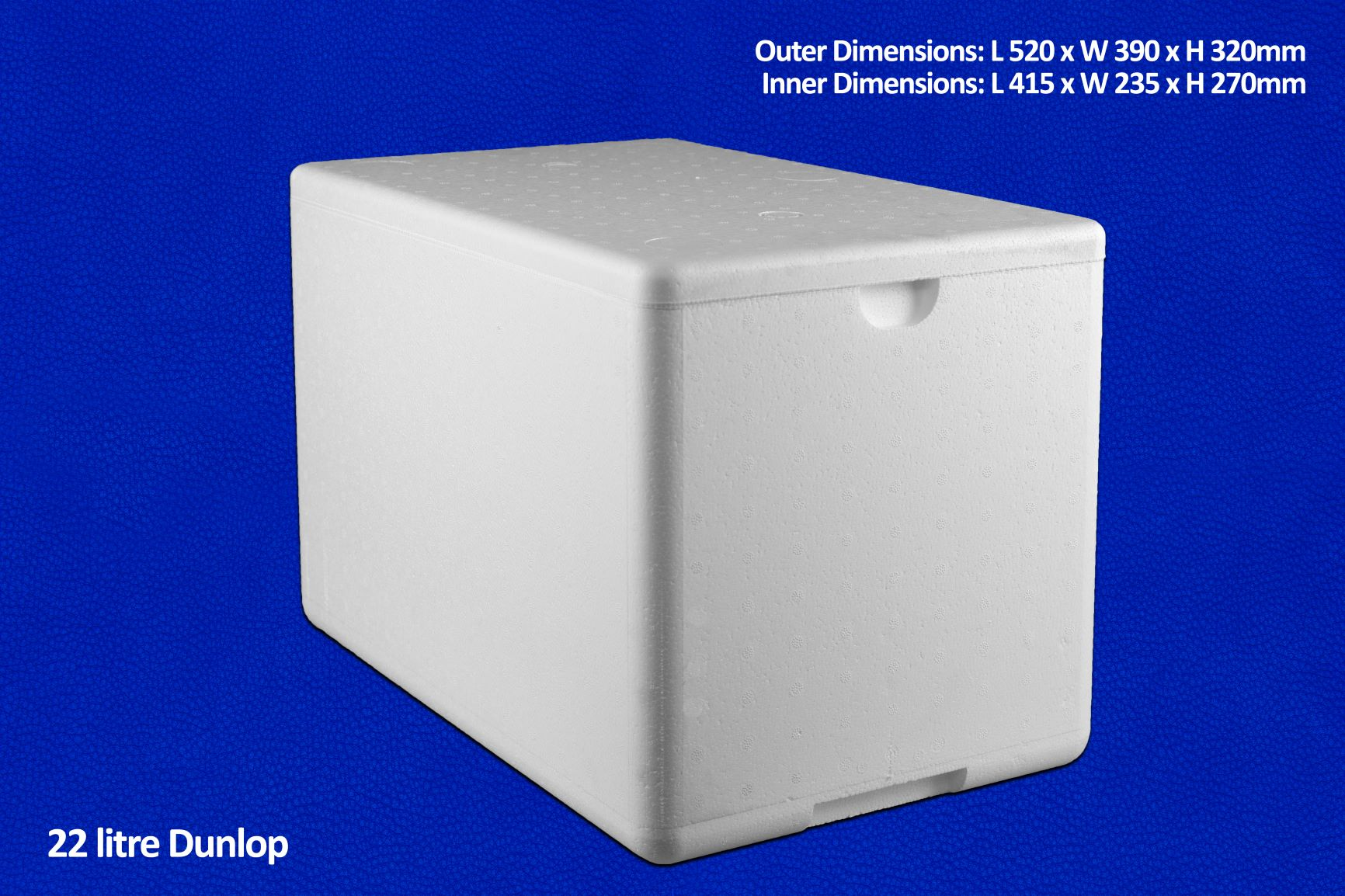 22 litre dunlop ice container